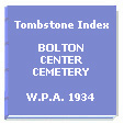 Bolton Center Cemetery